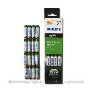 Батарейка Philips R6 UM3 AA