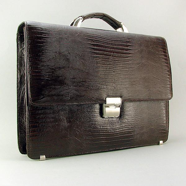 Портфель кожаный мужской классический каркасный Desisan 205-142