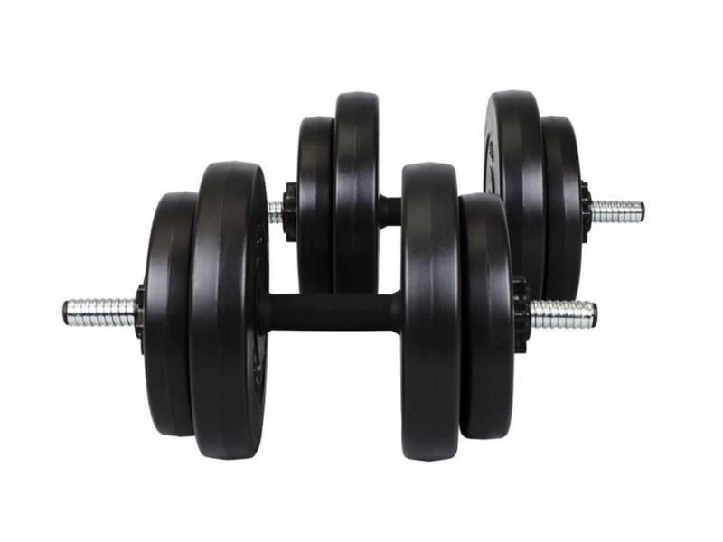 Гантели композитные Hop-Sport 2 х 16 кг