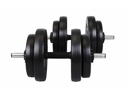 Гантели композитные Hop-Sport 2 х 16 кг, фото 2