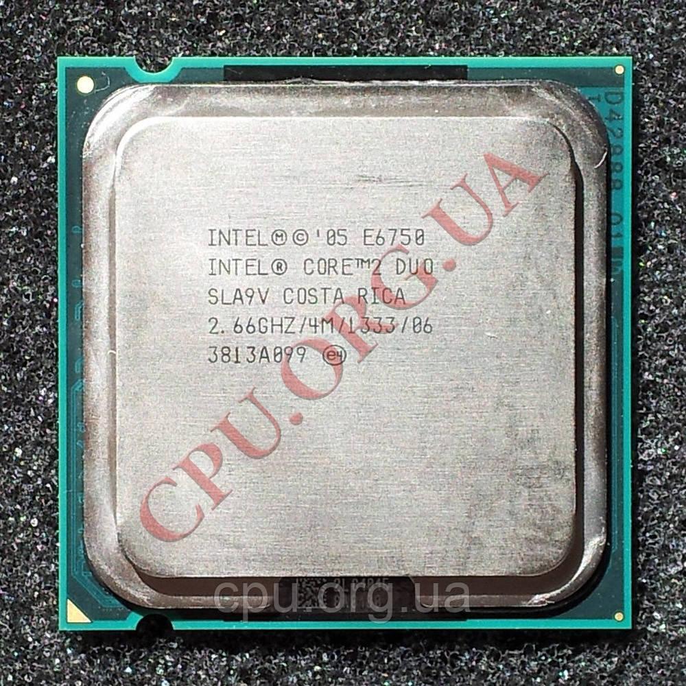 Процессор Intel Core 2 Duo E6750 2,66GHz/4M/1333 LGA775 (SLA9V)