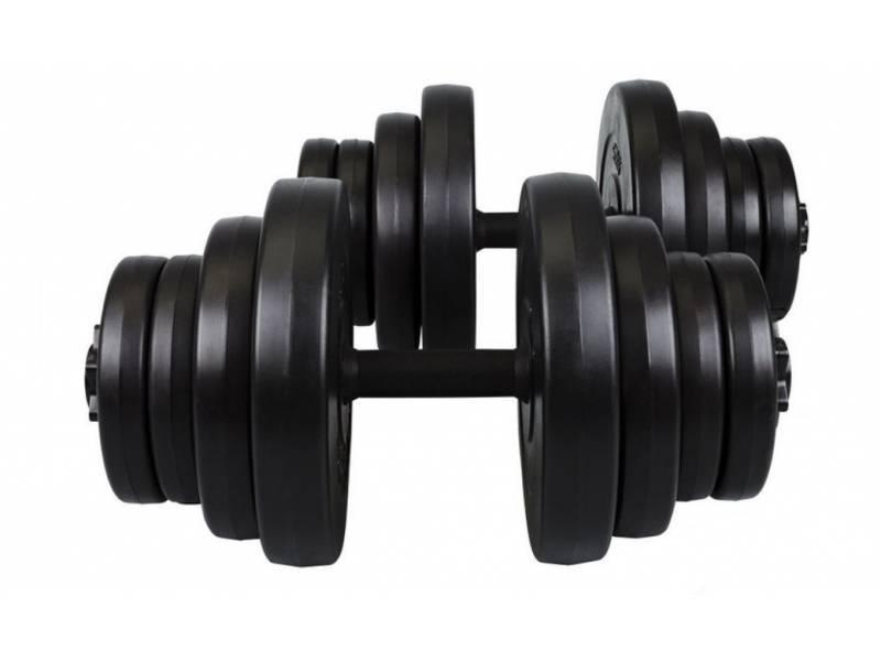 Гантели композитные Hop-Sport 2 х 21 кг