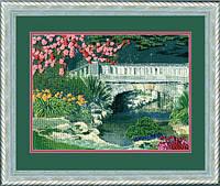 """Набор для вышивки крестом """"Весенний мостик"""""""