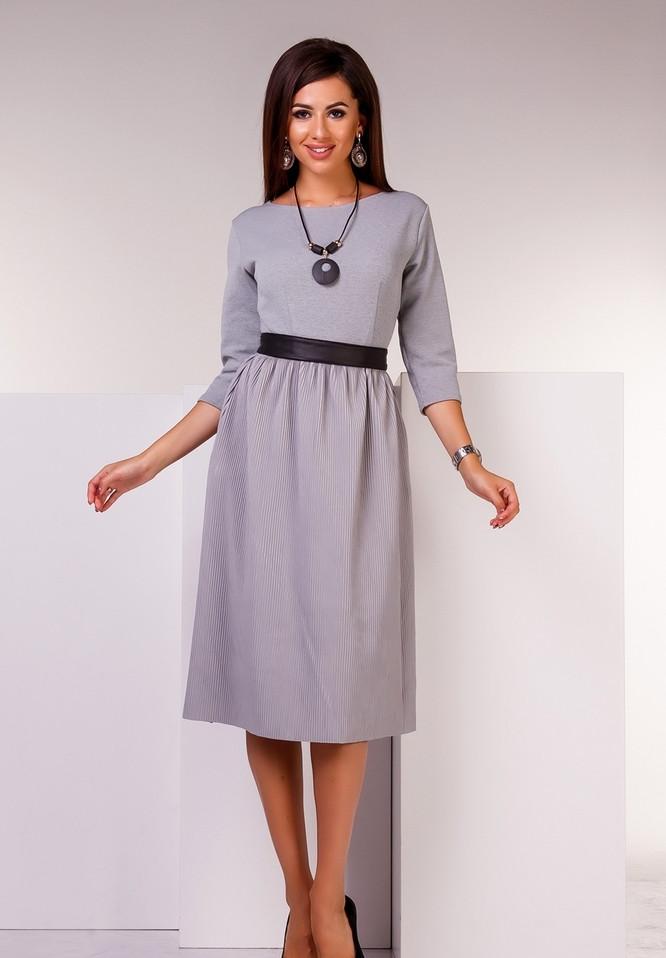 3b9a3701388 Женское Трикотажное Платье TDK-1308181 — в Категории