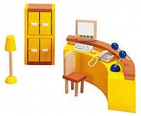 Акция! Набор для кукол goki Мебель для офиса Ресепшин 51696G [Скидка 5%, при условии 100% предоплаты!]