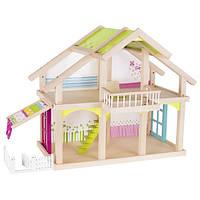 Акция! Кукольный домик goki 2 этажа с внутреним двориком Susibelle 51588G [Скидка 5%, при условии 100% предоплаты!]