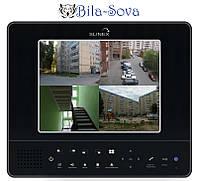 "Видеодомофон + DVR цветной GL-08N HDD, TFT LCD 8"", HDD 320 GB, Internet, Slinex"