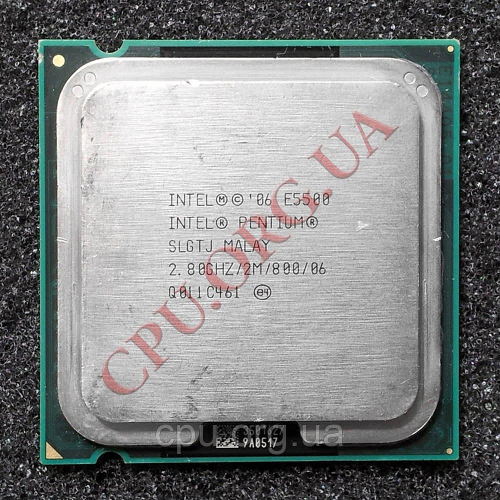 Intel Pentium Dual-Core E5500 2.8GHz/2M/800 LGA775 (SLGTJ)