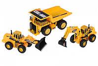 Акция! Набор машинок Same Toy Truck Series Карьерная техника R1804Ut [Скидка 5%, при условии 100% предоплаты!]