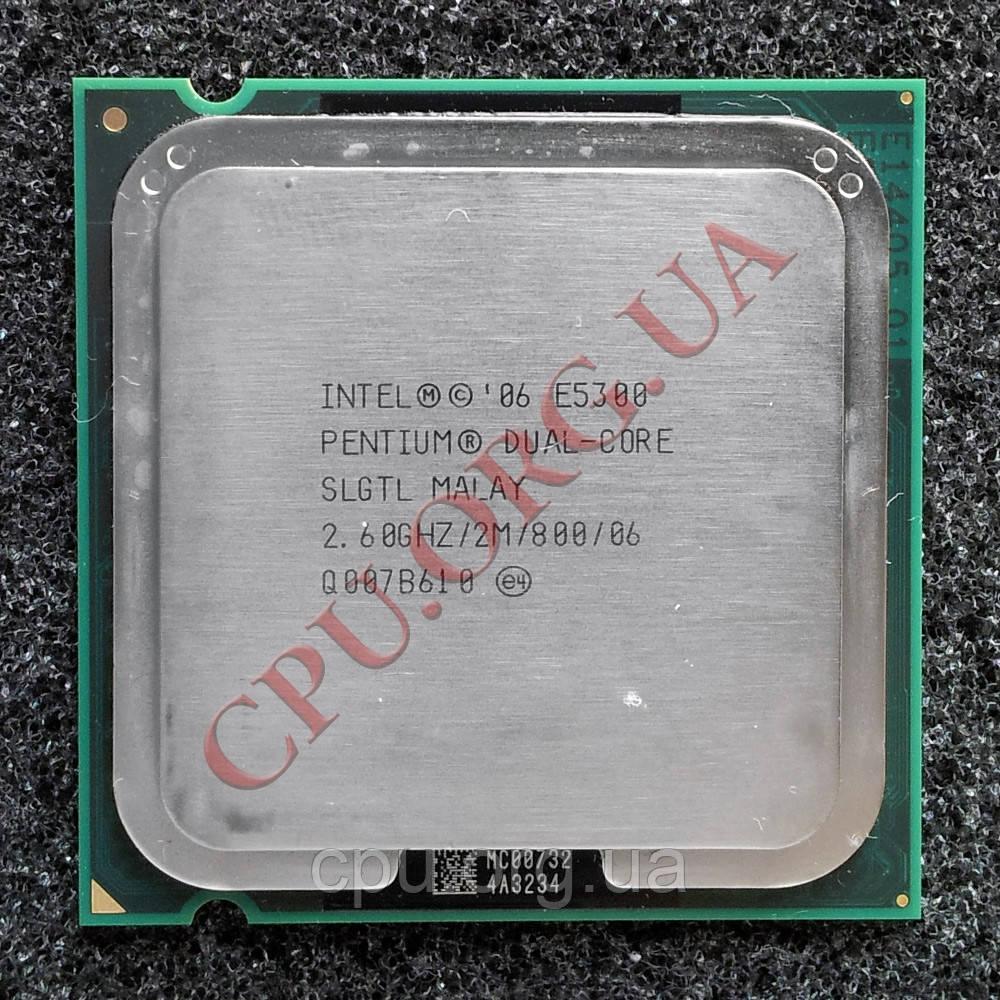 Intel Pentium Dual-Core E5300 2.6GHz/2M/800 LGA775 (SLB9U)
