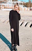 Длинное платье прямого силуэта AAK-1909181