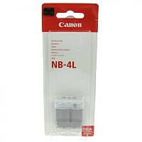 Dilux - Canon NB-4L 3.7 V 760mah Li-ion акумуляторна батарея до фотокамери