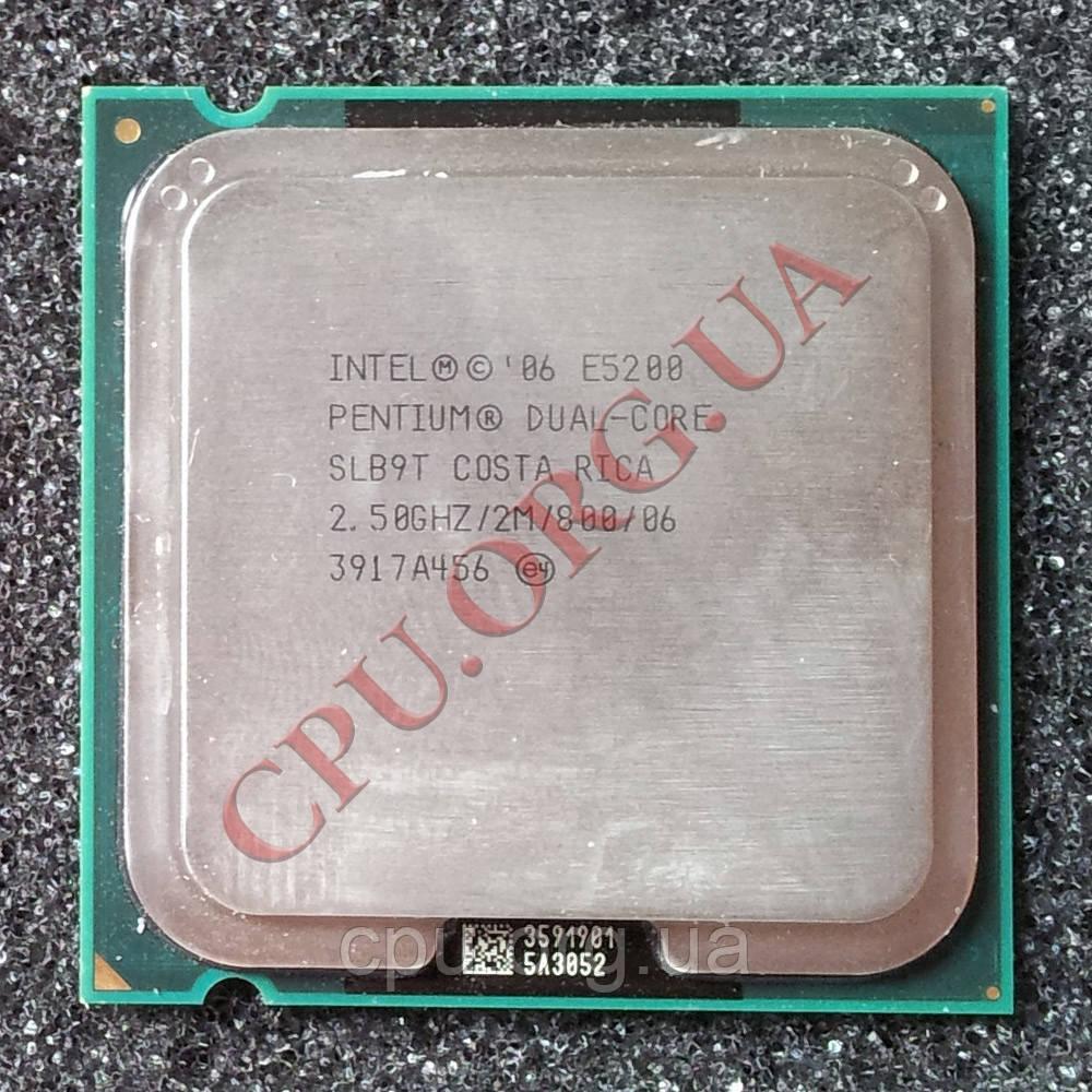 Intel Pentium Dual-Core E5200 2.5GHz/2M/800 LGA775 (SLAY7)