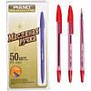 1147 Piano ручка масляная красная