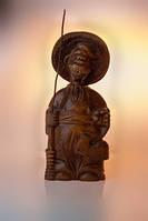 Скульптура Казак рыбак с удочкой