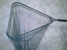 Подсак треугольный рыболовный 50*50 (мелкая сетка), фото 2
