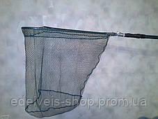Подсак треугольный рыболовный 50*50 (мелкая сетка), фото 3