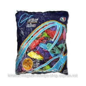 Шарики 12 ` пастель «Рисунок офсет» GD110 /83