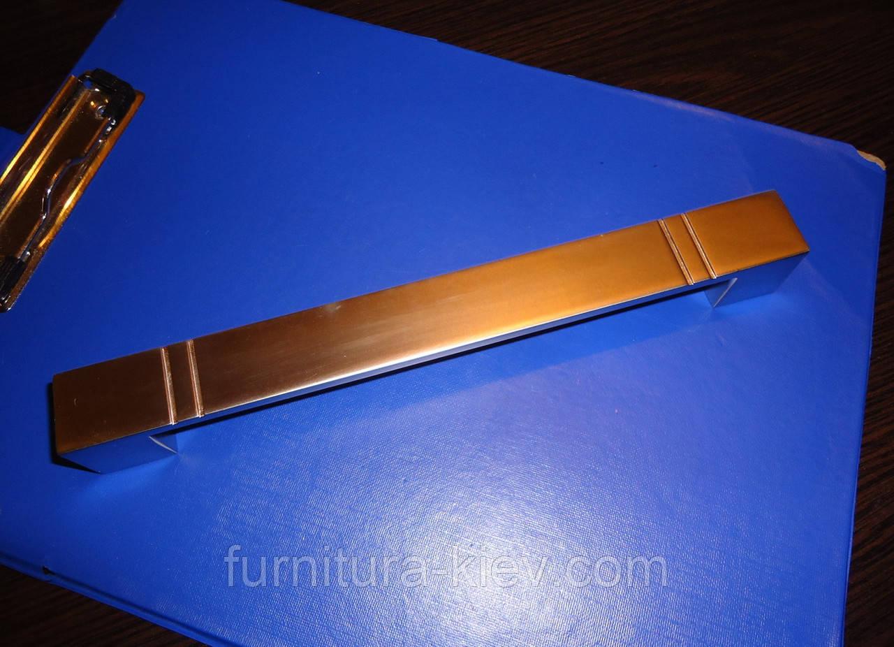 Ручка мебельная UN49- 192мм, фото 1