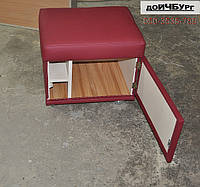 Пуф шкафчик на колесиках