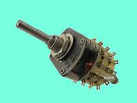Переключатель галетный ПГ3 11П3Н В, аналог 11П2Н