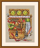 Мережка Набор для вышивки крестом  Кожній молодиці хату, скриню й кицю ч.3 К-09, фото 1
