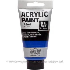 Краска акриловая 450 «Phthalo blue» 75 мл