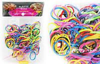 Резинки для плетения. Разноцветные. 200 шт.