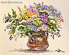 Мережка Набор для вышивки нитками Польові квіти К-16