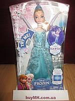 Кукла  Disney Frozen Singing Elsa Doll Эльза поющая Холодное сердце оригинал Mattel