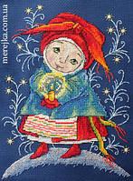 Мережка Набор для вышивки крестом Різдвяний вогник К-19, фото 1