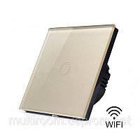 Wi Fi выключатели без нейтрального провода! Совместимы с Sonoff ! Приложение IOS, Android EWeLink Золотой