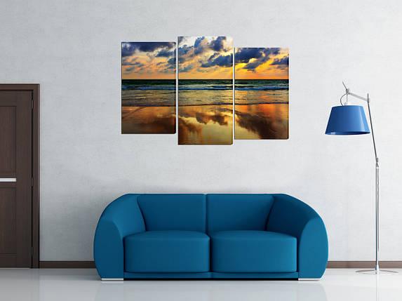 Модульная картина Закат у моря, фото 2