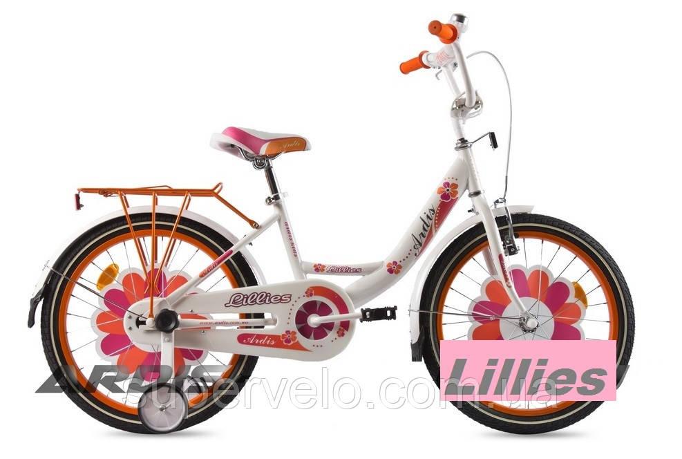 Велосипед для девочки Ardis Lillies BMX 12  - Веломагазин VeloCity Одесса в Одессе