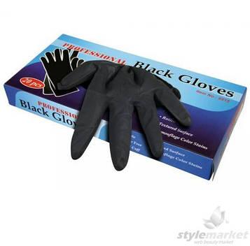 Перчатки Professional Black латекс, большие, 20шт.