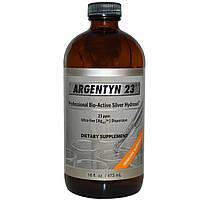 Гидрозоль серебра, Allergy Research Group, 23 РРМ, 473  мл