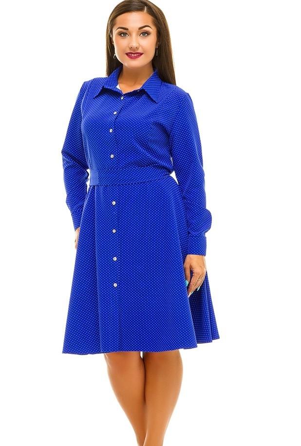 f5fa1d06370 Платье в Мелкий Горох JAV-5041 — в Категории