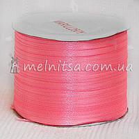 Атласная лента 0,3 см, розовый