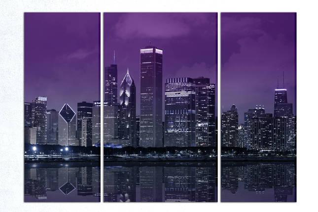 Модульная картина Ночной город, фото 2