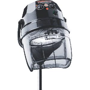 Сушуар Diamante 3000 2-швидкісний чорний; на підлоговому штативі з роликами