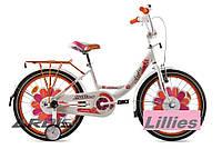 Велосипед для девочки в цветочек Ardis Lillies BMX 20 , фото 1