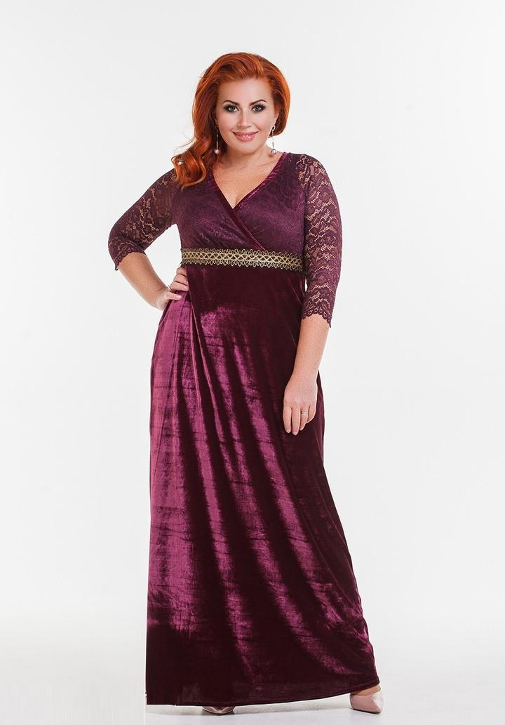 c30bcb5cef121c7 Вечернее бархатное платье в пол DG-d41158: продажа, цена в Одессе ...