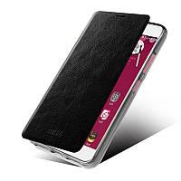 Кожаный чехол книжка MOFI для Lenovo S60 черный