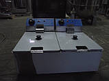 Фритюр (фритюрница) Двойной Vektor DF-6L-2 2x6 литров, фото 2