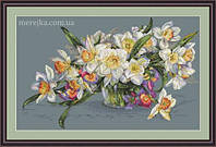 Мережка Набор для вышивки нитками Нарциси К-14, фото 1