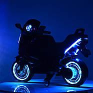 Мотоцикл детский M 3681ALS-7 Автопокраска оранжевый Гарантия качества Быстрая доставка, фото 5