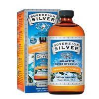 Гель гидрозоль серебра , Sovereign Silver, 10 РРМ, 473 мл