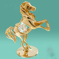 """Статуэтка """"Лошадь"""", позолота."""