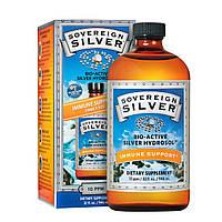 Гель гидрозоль серебра , Sovereign Silver, 10 РРМ, 946 мл