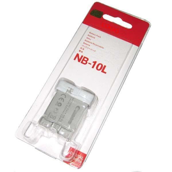 Dilux - Canon NB-10L 7,4V 920mah Li-ion аккумуляторная батарея к фотокамере